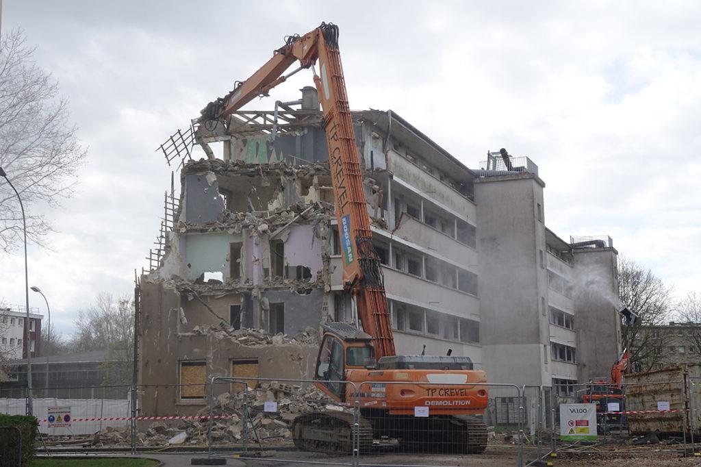 demolition nétreville